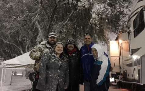 Teachers' 'Night in the Stadium' Hit by Snow