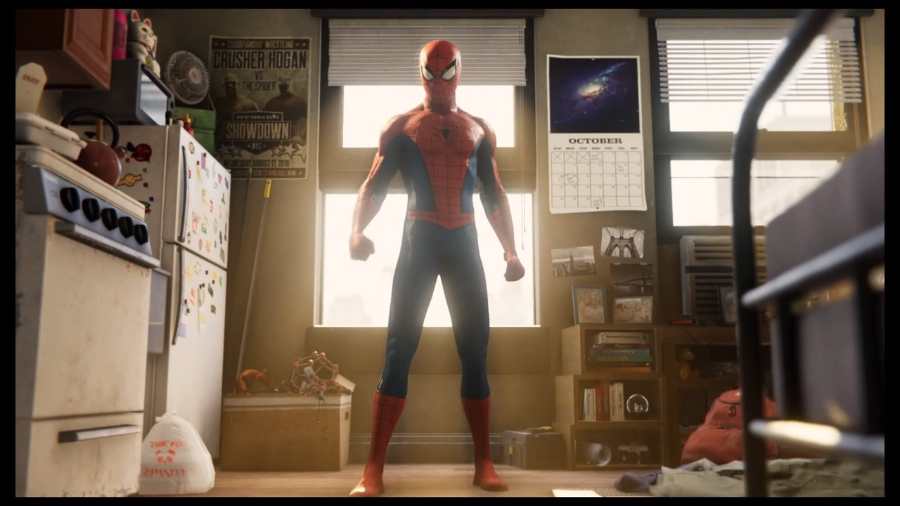 The game takes place after Peter has donned the mask for 8 years, so he's an experienced hero this time around.
