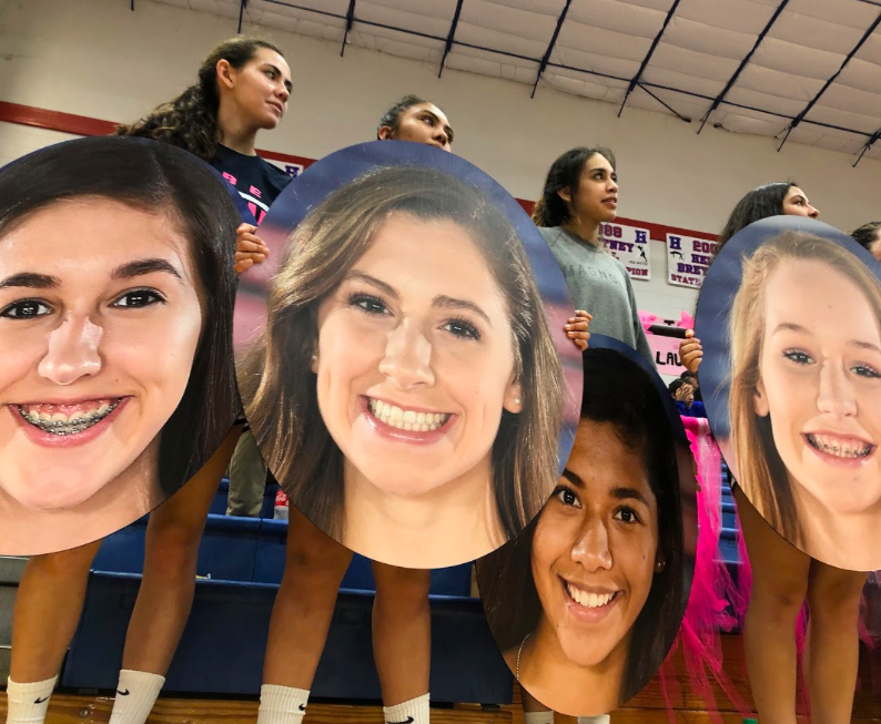 Lady Rebs varsity volleyball playoff push