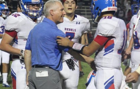 Rebel Varsity Football Team Reaches State Playoff Tournament Back to Back Seasons