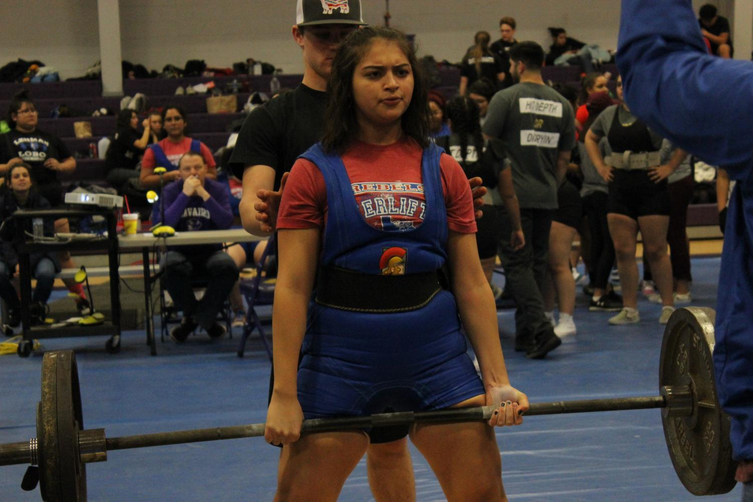 Lifting+like+a+Rebel.+The+powerlifting+team+had+their+first+meet+of+the+season+at+Navarro+High+School+on+January+12th.+Lifters+placed+in+multiple+weight+categories.+The+boys+team+got+2nd+place+just+under+Navarro.+%0A%22We%27ve+started+this+season+on+a+great+note+and+can+only+expect+to+see+improvement%2C%22+said+Hays+coach+Aaron+Postert.