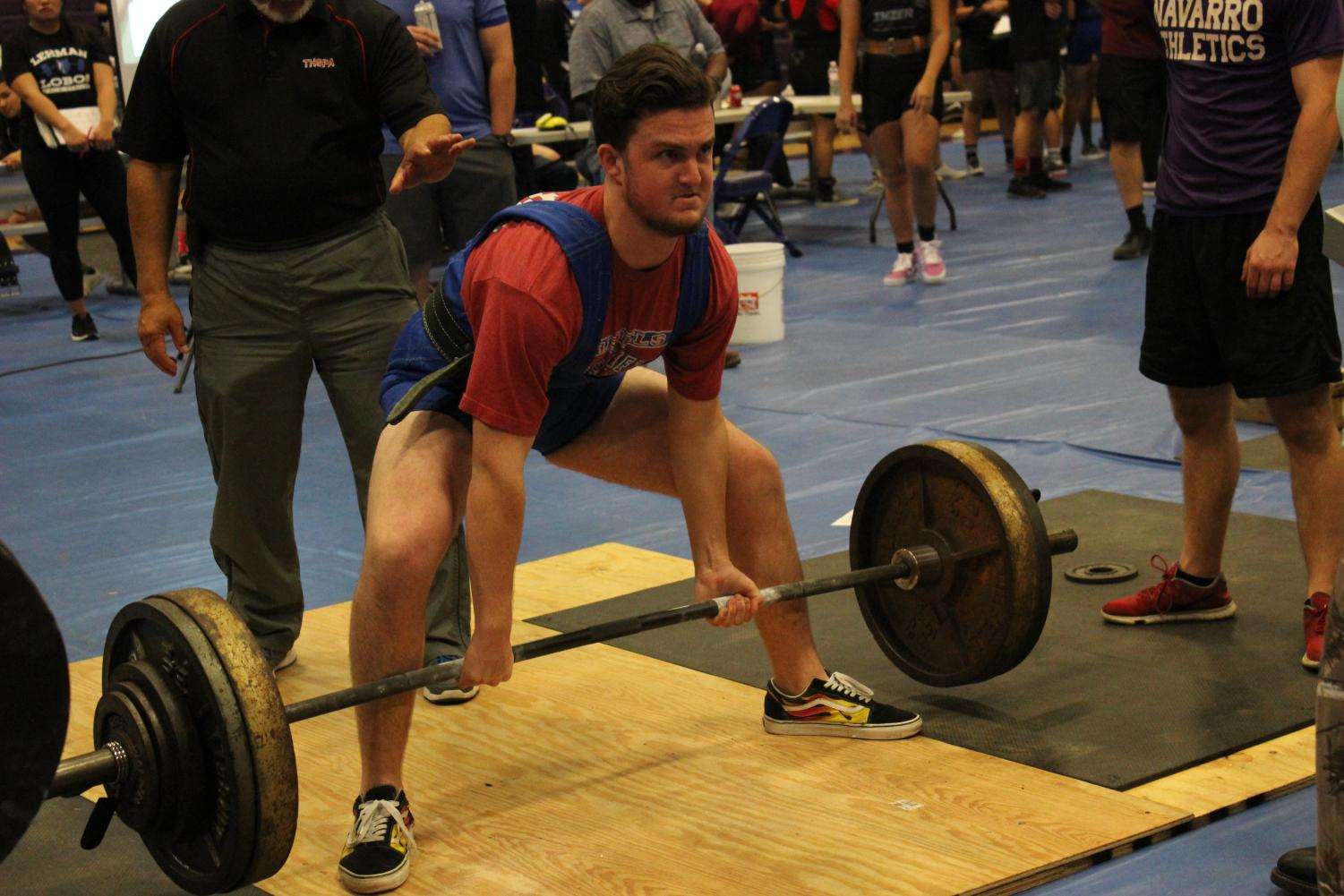 Nic+Williams%2C+12%2C+four-year+lifter%2C+pulling+a+personal+record.