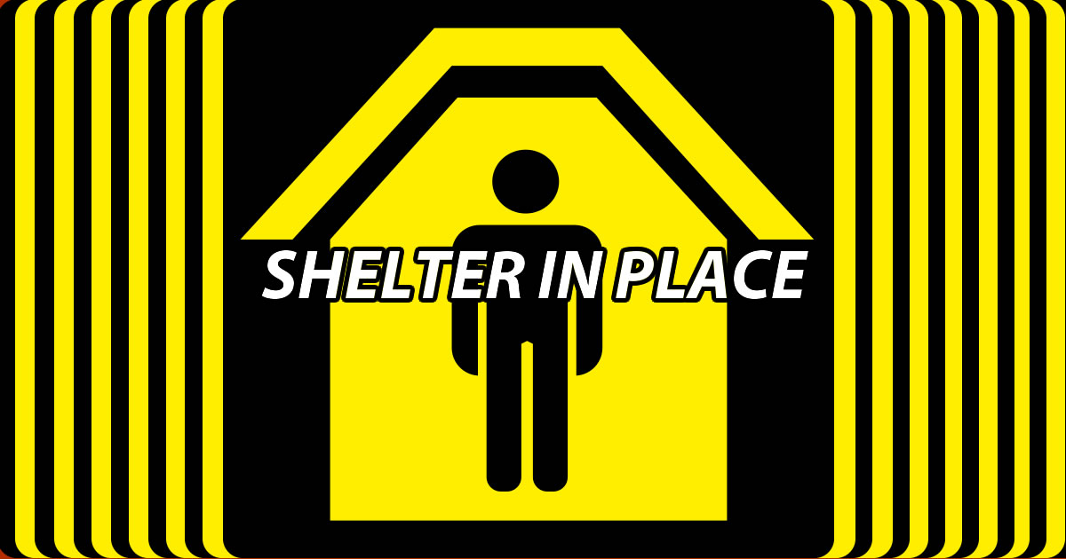 February Seventh a random shelter in place was called in the middle of everyone's fifth period and we still don't know why.