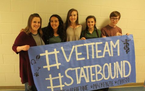 Vet science team heads to state