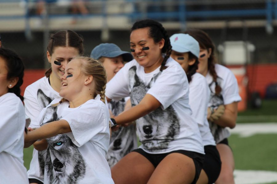 Senior Olympics sees the Wolf Gang taking gold