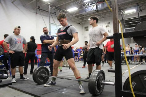 "Declan Trevethan, 12, qualifies to the texas Regional meet for powerlifting after just one meet. He qualified at our home hays meet on January 18th 2020. He was one of Two powerlifters from Hays to qualify on his first meet with an overall total of 1,135 pounds overall. He is hoping to qualify for state. ""State has been my goal for the past 4 years. im hoping this year I get to make it a reality."""