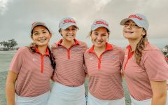 Emma-Leigh Thurman, Ashlie Brady, Maddie Bergeron, and Ryan Sanders at their first tournament of the year